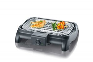 severin-pg-8511-barbecue-tafelblad-electrisch-2300w-zwart-barbecue